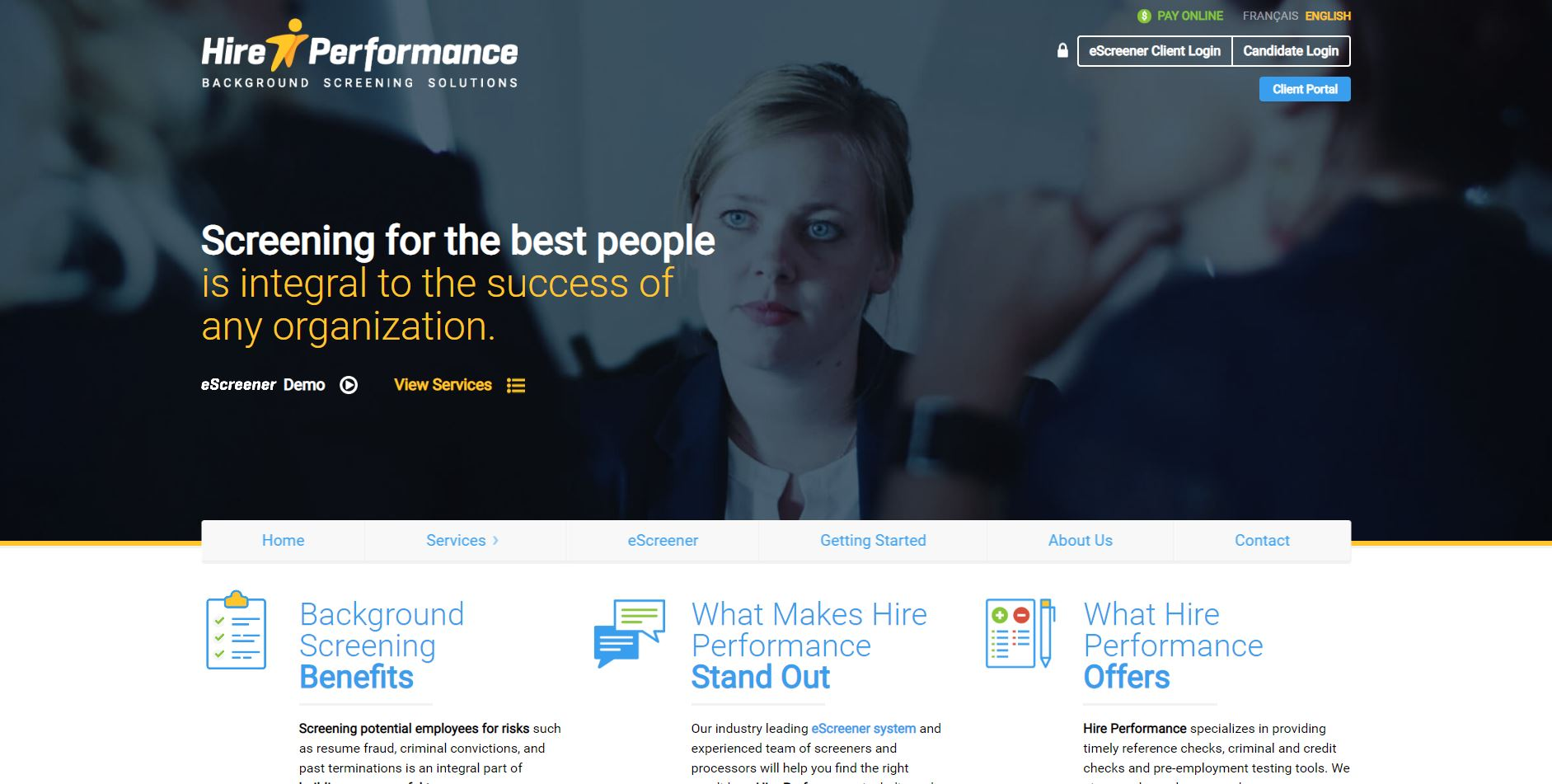 Hire Performance